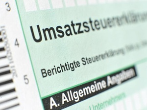 BMF: Muster der Umsatzsteuererklärung 2014