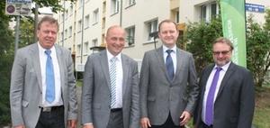 """Unitas eG und Burgstädt eG bauen fünf """"mitalternde Wohnungen"""""""