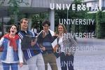 Universität mit Studenten