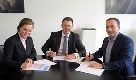 Unterzeichnung Innovationspartnerschaft Haufe und DDIV