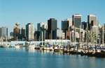 Stadtansicht Vancouver, Kanada