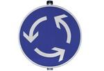 Verkehrsschild Kreisverkehr