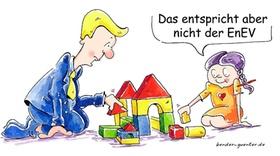 Verwalter-Cartoon