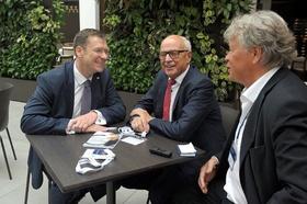 v.l.n.r. Martin Kaßler, Wolfgang D. Heckeler, Dirk Labusch