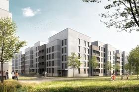 VGF Betriebshof Wohnbebauung Frankfurt