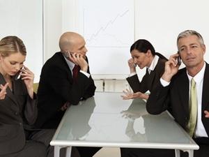 Kommunikation: Besprechungen als Zeiträuber
