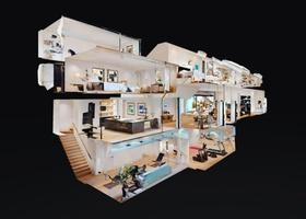 Virtuelle Besichtigung: Dollhouse Matterport