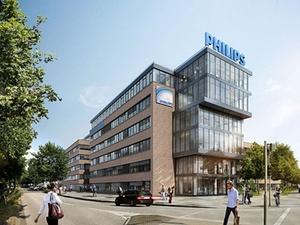 Philips und ECE legen Grundstein für Philips-Zentrale in Hamburg