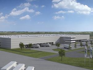 Westfalenhütte: Garbe Logistic baut Logistikzentrum für Schenker