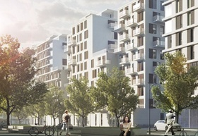 "Visualisierung ""Wohnquartier am Alexanderplatz"" Berlin_Strauss & Partner"