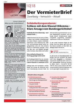 Checkliste: Unterschied Modernisierung und Instandsetzung | VermieterBrief