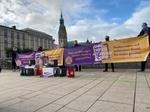 Volksinitiativen Hamburg Unterschriftensammlung Rathaus