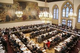 Vollversammlung im Münchener Stadtrat