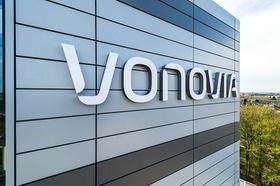Vonovia Zentrale Bochum Leuchtschrift