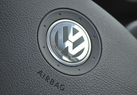 VW Logo Airbag