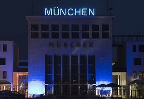"""""""Wappenhalle"""" in München-Riem"""
