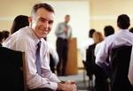 Weiterbildung Seminar lachender Mann