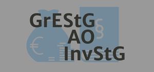 JStG 2019: Grunderwerbsteuer, Investmentsteuer, Abgabenordnung