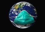 Weltkugel Mundschutz Corona