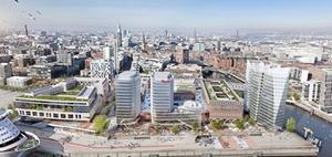 Hamburg Hafencity: Baustart für südliches Überseequartier