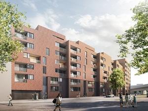 WGF AG plant Wohnanlage in Hamburg-Barmbek