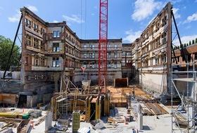 Wiederaufbau Baustelle