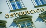 Wien_Haus mit Aufschrift Österreich
