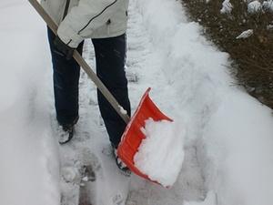 Winterzeit: Zeit für Schneeschipper