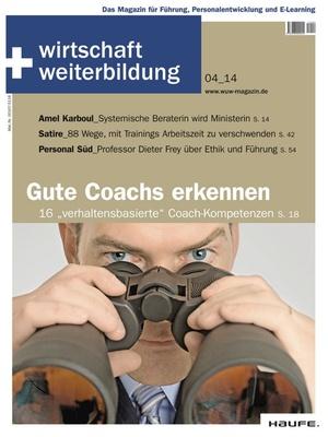 wirtschaft + weiterbildung Ausgabe 04/2014 | wirtschaft & weiterbildung