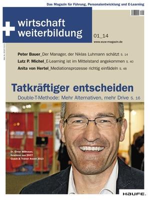 wirtschaft + weiterbildung Ausgabe 1/2014 | wirtschaft & weiterbildung