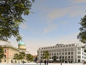 Kondor Wessels ergänzt Potsdam um Wohn- und Geschäftshaus