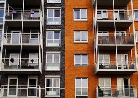 Wohnanlage Mietwohnung Miete Balkone