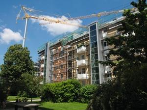 Gebäude- und Freiflächen: Flächeninanspruchnahme rückläufig