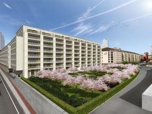 Groß&Partner entwickeln Bürogebäude im Bahnhofsviertel Frankfurt