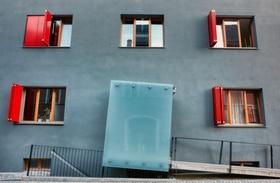 Wohnhaus Mehrfamilienhaus barrierefrei