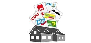 Wahlkampf: Immobilien- und Wohnthemen werden zum Ladenhüter