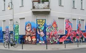 Wohnhaus Zoom Berlin Kreuzberg Graffiti
