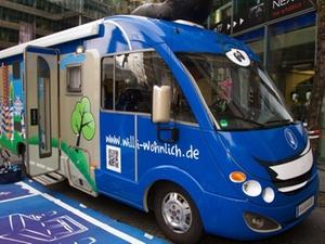 """""""Wohnmobil"""" unterwegs für kommunalen Vermieter"""