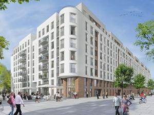 AGB Frankfurt kauft Wohngebäude Belvivo im Europaviertel
