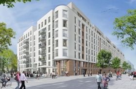 Wohnprojekt Belvivo Frankfurt Europaviertel