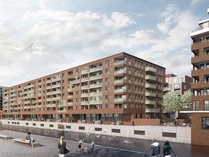 Bouwfonds plant 331 Wohnungen in Hammerbrook