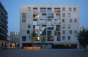 """Wohnquartier auf dem """"Hunziker Areal"""" in Zürich"""