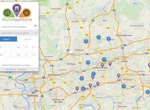 Online-Plattform für Flüchtlingswohnungen in NRW