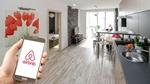 Wohnung Hand Smartphone Airbnb