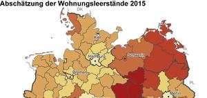 Wohnungsmarkt: Leerstand bundesweit bei drei Prozent