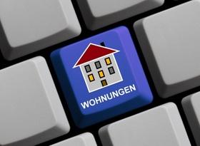 Wohnungssuche per Internet Quelle: Analyse & Konzepte / kebox - Fotolia www.analyse-konzepte.de