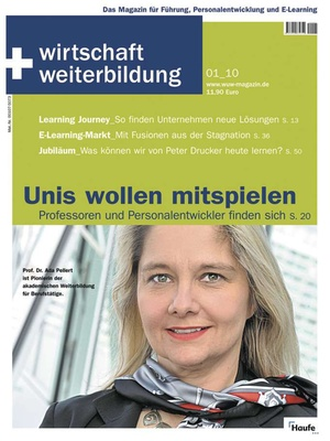 wirtschaft + weiterbildung Ausgabe 1/2010 | wirtschaft & weiterbildung