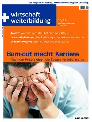 wirtschaft + weiterbildung Ausgabe 1/2011 | wirtschaft & weiterbildung