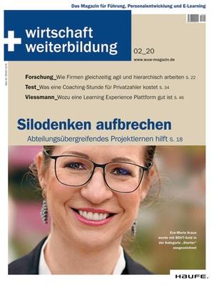 wirtschaft + weiterbildung Ausgabe 2/2020   wirtschaft & weiterbildung