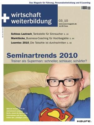 wirtschaft + weiterbildung Ausgabe 3/2010 | wirtschaft & weiterbildung